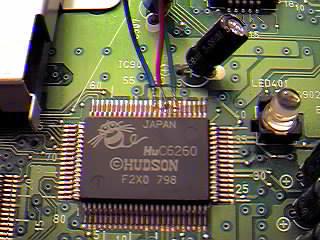 Adding RGB to a Turbo Grafx or PC Engine