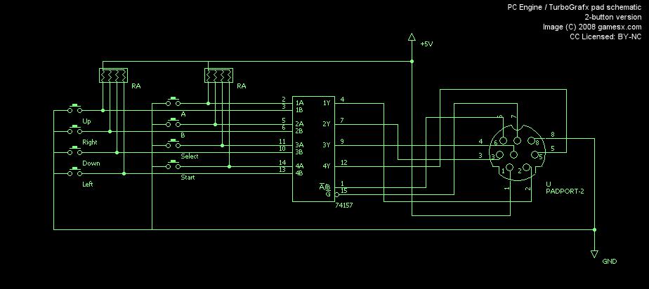 La PC ENGINE fête ses 30 ans ! nouveau jeu exclusif pour fêter ça :-) - Page 15 Fetch.php?cache=&media=controls:pcengine_pad_schematic