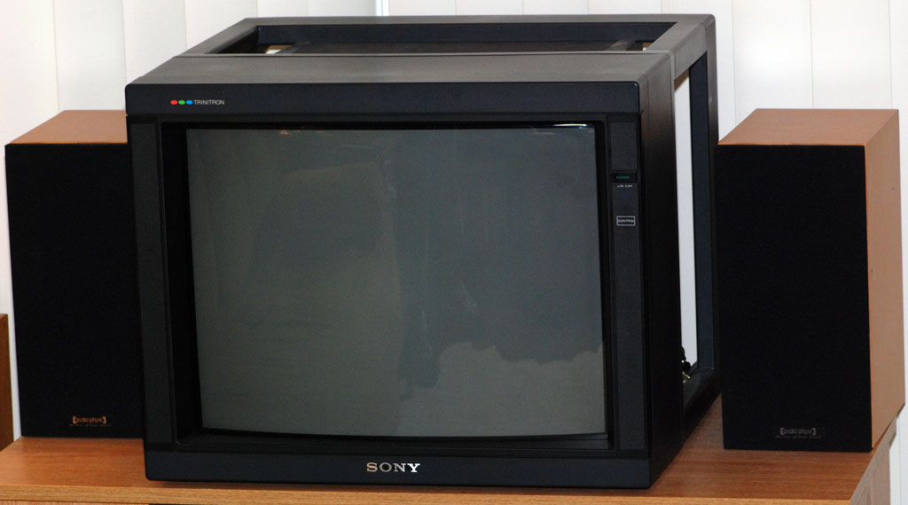 sony pvm 2030 trinitron color video monitor