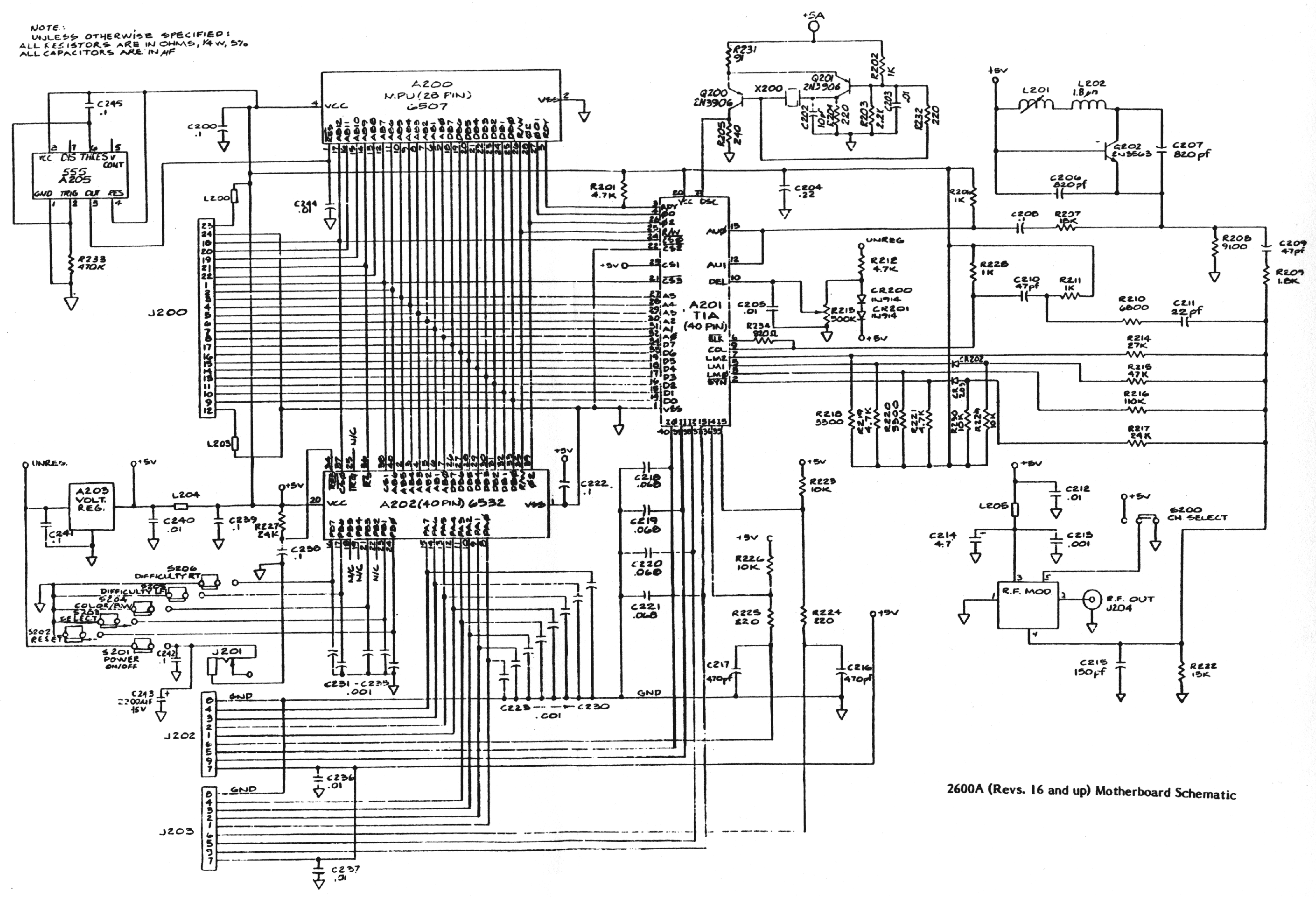 Schematicsconsole Related Schematics Nfg Games Gamesx 360 Engine Diagram 2600a R16 Motherboard Schematic