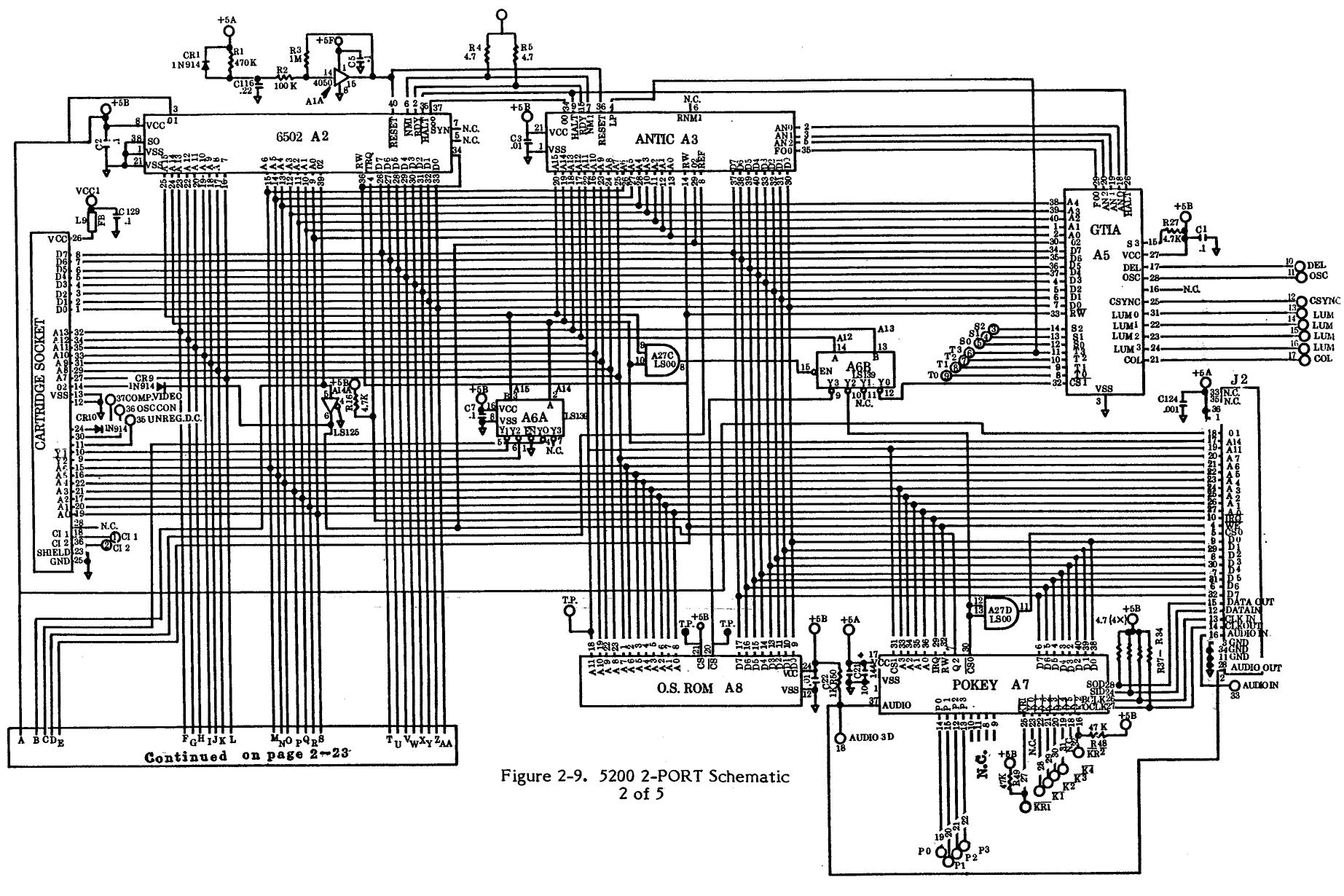 atari 5200 controller wiring diagram gameboy color