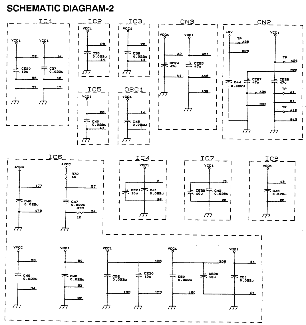 Xbox One S Motherboard Schematic