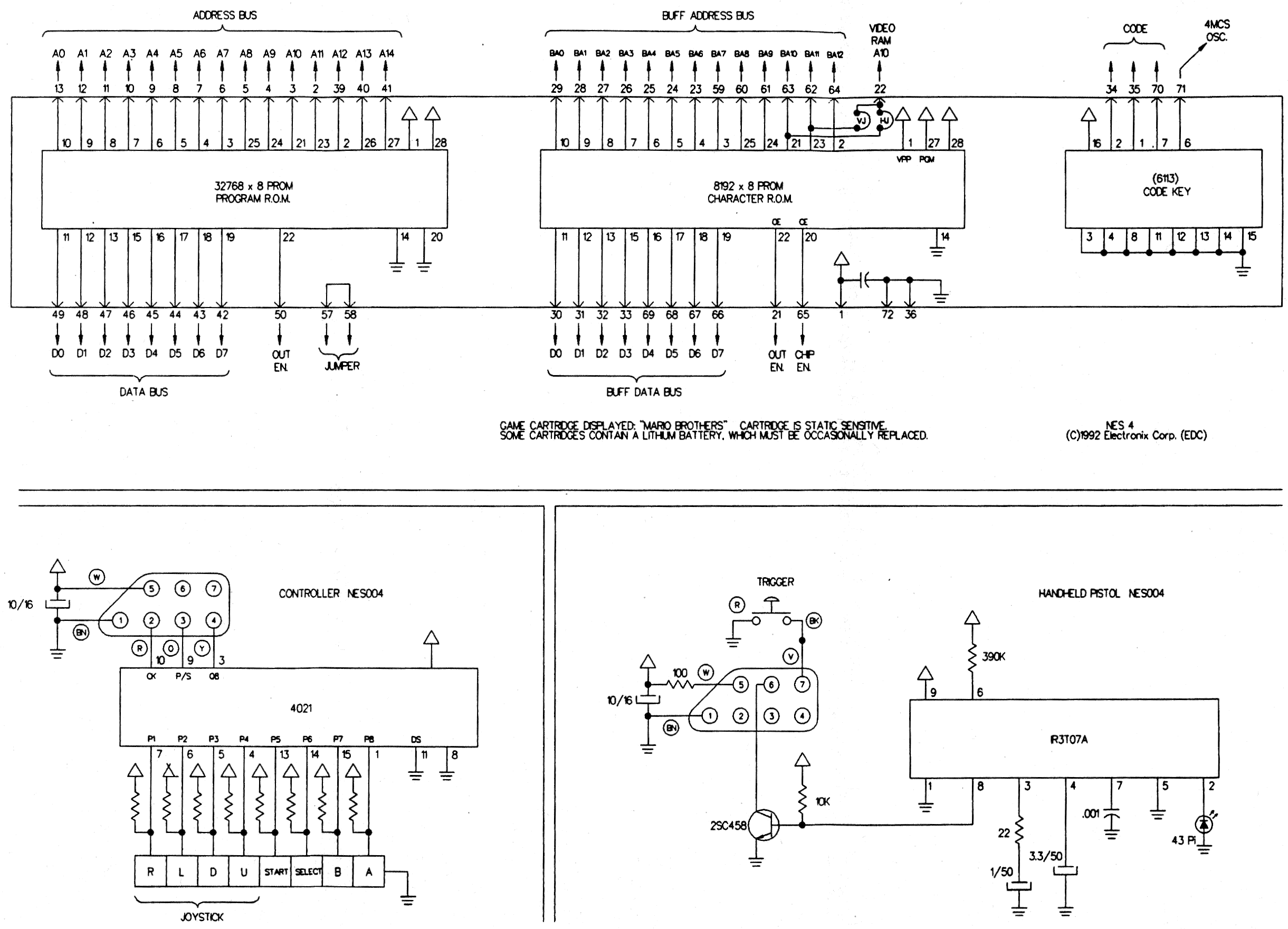 Nintendo Controller Wiring Diagram Diagrams Nes Power Switch Schematic Get Free Image About Rocker 64