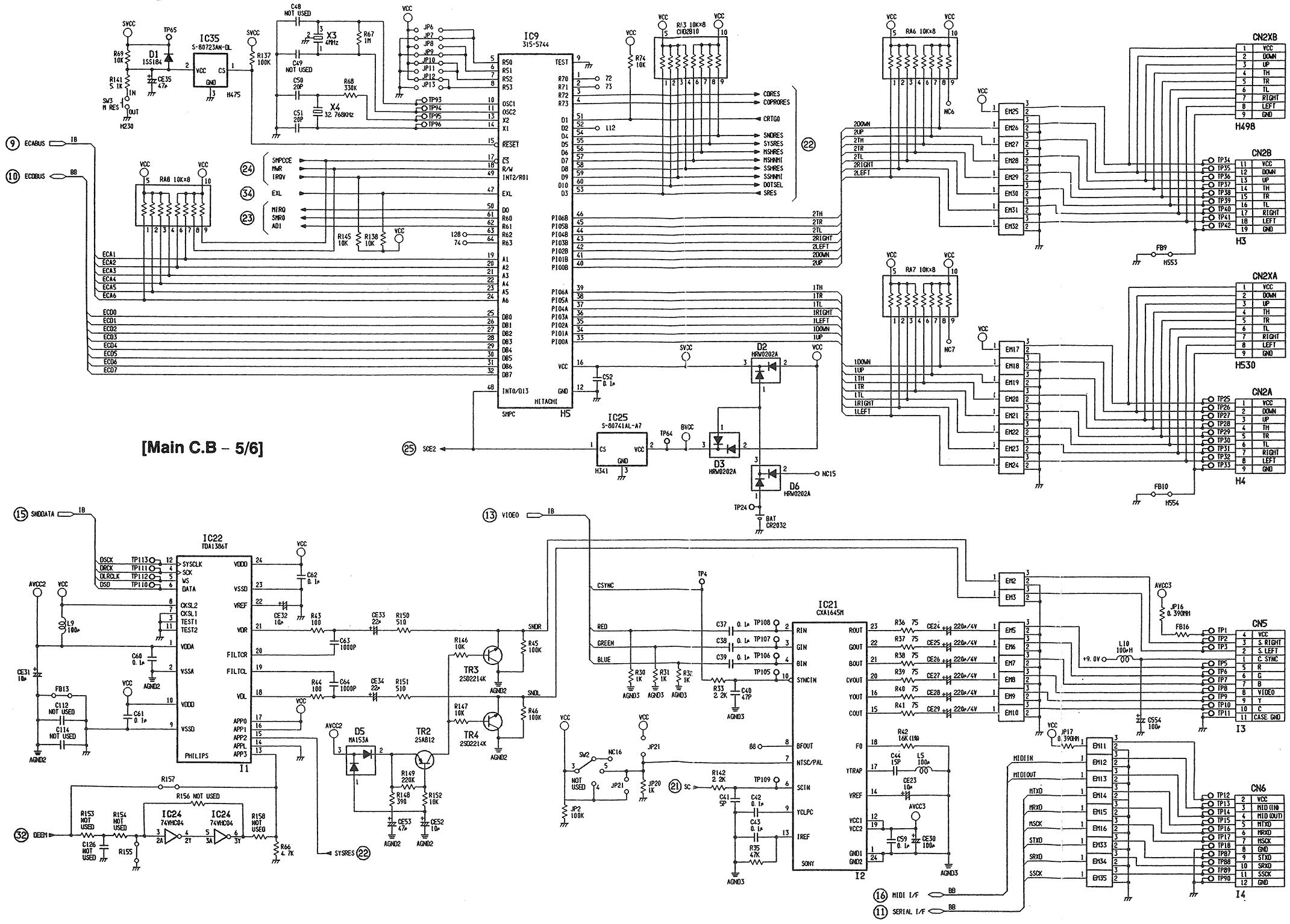 schematics sega cd 2 sega mega drive elsavadorla